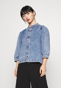 Selected Femme - SLFSMILLA - Camisa - blue denim