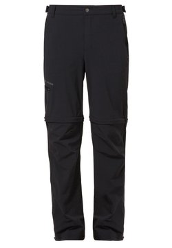Vaude - FARLEY T ZIP PANTS - Outdoor-Hose - black