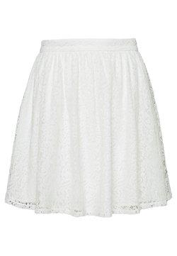 NA-KD - SKIRT - A-line skirt - white