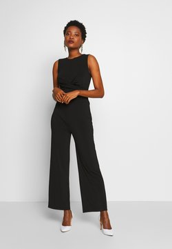 Anna Field - FRONT KNOT SOLID JUMPSUIT  - Jumpsuit - black