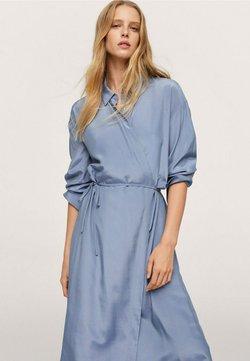 Mango - RAIN - Sukienka koszulowa - blå