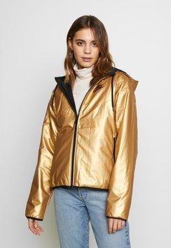 Nike Sportswear - Winterjacke - metallic gold/black/black