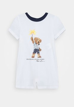Polo Ralph Lauren - ONE PIECE SHORTALL - Combinaison - white
