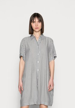 Carin Wester - DRESS LINA - Blusenkleid - white/blue