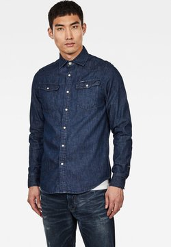G-Star - 3301 STRAIGHT - Skjorta - blue