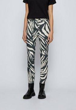 BOSS - Jeans Skinny Fit - light grey, white