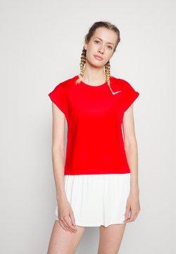 Nike Performance - T-shirt basic - university red/white