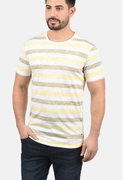Solid - RUNDHALSSHIRT TET - T-Shirt print - yellow