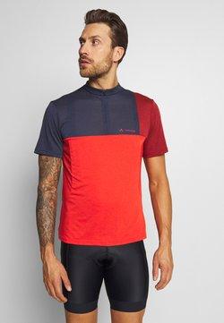 Vaude - ME TREMALZO - T-Shirt print - mars red