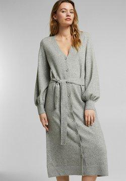 Esprit - LONG DRESS - Maxikleid - medium grey