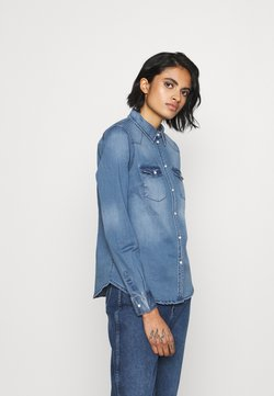 Vero Moda - VMMARIA - Koszula - medium blue denim