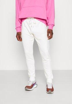 NU-IN - BASIC SLIM FIT JOGGERS - Jogginghose - off white