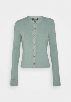 Fashion Union Tall - FLOWLER CARDI - Vest - green