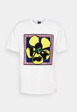 Obey Clothing - WE MAKE THE FLOWERS GROW - T-Shirt print - white