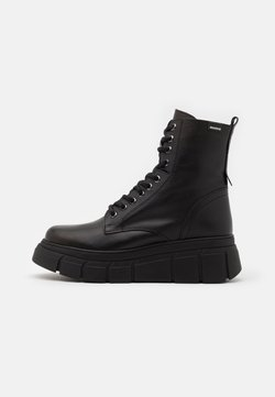 mtng - Bottines à lacets - black