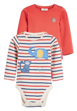 Next - RED TWO PACK CHARACTER APPLIQUé BODYSUITS (0MTHS-3YRS) - Body - red