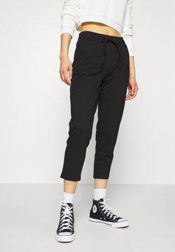 Even&Odd - BASIC - Punto Joggers - Pantalon classique - black