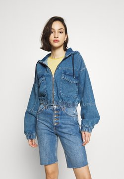 BDG Urban Outfitters - PATCH POCKET JACKET - Jeansjacke - mid vintage