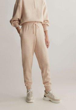 OYSHO_SPORT - Pantalon de survêtement - mottled beige
