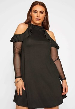 Yours Clothing - LIMITED COLLECTION  - Freizeitkleid - black