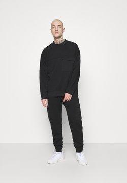 Topman - CREW - Sweatshirt - black