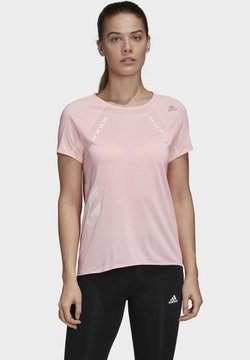 adidas Performance - HEAT.RDY - Camiseta estampada - pink