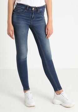Vila - VICOMMIT FELICIA  - Slim fit jeans - dark blue denim