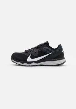 Nike Performance - JUNIPER TRAIL - Trail hardloopschoenen - black/white/dark smoke grey/grey fog