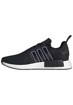 adidas Originals - NMD_R1 - Sneakersy niskie - core black dust purple core black