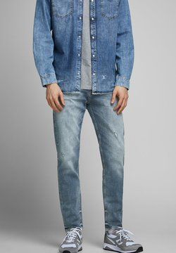 Jack & Jones - FRED ORIGINAL JOS - Jeans Tapered Fit - blue denim