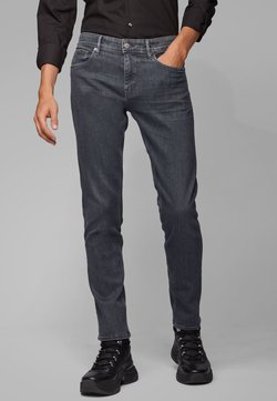 BOSS - CHARLESTON - Slim fit jeans - anthracite