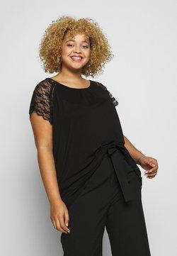 ONLY Carmakoma - CARAMBER - T-Shirt print - black