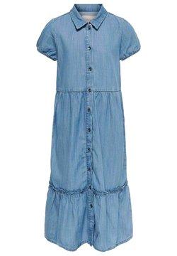 Kids ONLY - Blusenkleid - medium blue denim