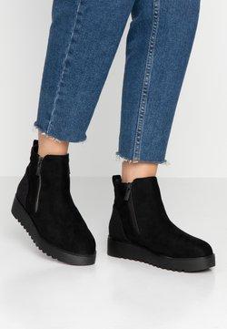 mtng - NEW SCHOOL - Korte laarzen - black