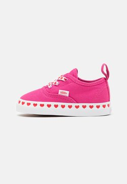 Vans - AUTHENTIC ELASTIC LACE - Sneakersy niskie - fuchsia purple/high risk red