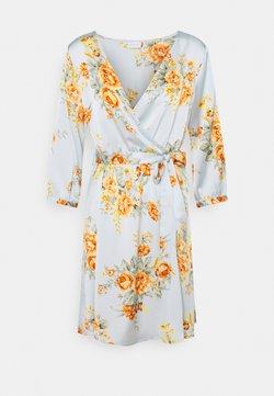 Vila - VIJOSE LUNA SHORT DRESS - Kjole - ashley blue