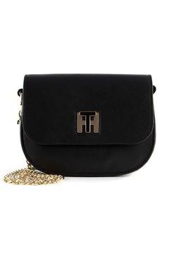 Tommy Hilfiger - TH TWIST - Umhängetasche - black/june bug