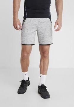 Superdry - CORE GYM TECH SHORT - Pantalón corto de deporte - light grey