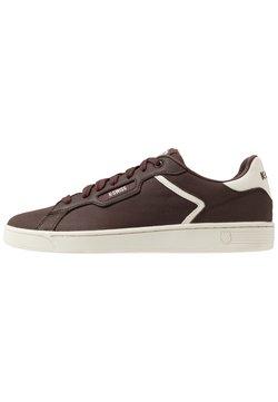 K-SWISS - CLEAN COURT - Sneaker low - french roast/egret