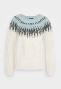 Marc O'Polo - LONGSLEEVE CABLE  - Strickpullover - multi