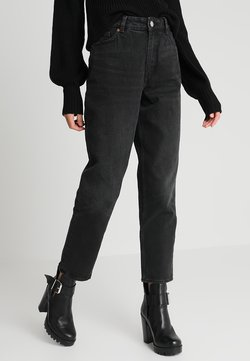 Monki - TAIKI  - Jeans relaxed fit - black