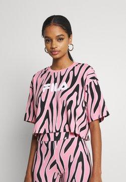 Fila - EPONA CROPPED TEE - T-Shirt print - peony