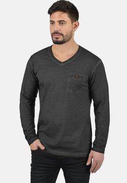 Solid - Bluzka z długim rękawem - black