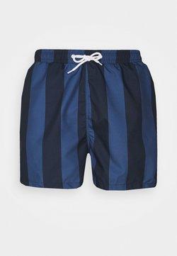 Pier One - Badeshorts - dark blue/blue
