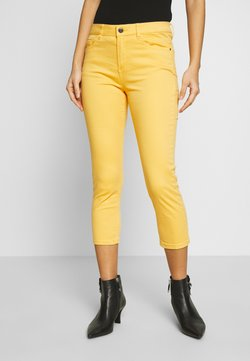Esprit - CAPRI - Slim fit jeans - yellow