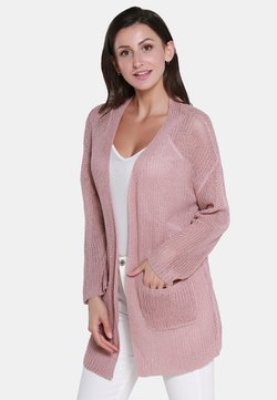 usha - MANTEAU TRICOTÉ - Strickjacke - rose