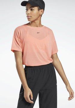 Reebok - WORKOUT READY SUPREMIUM T-SHIRT - T-shirt con stampa - red