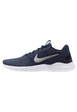 Nike Performance - FLEX EXPERIENCE RUN 9 - Zapatillas de competición - obsidian/metallic cool grey/black