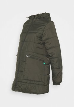 Modern Eternity - GIANNA QUILTED PUFFER HYBRID MATERNITY JACKET - Chaqueta de entretiempo - khaki
