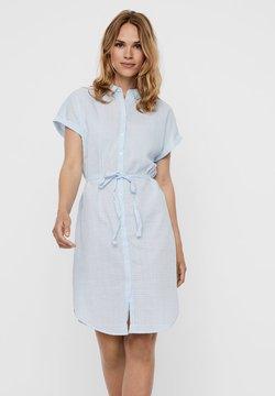 Vero Moda - Vestido camisero - placid blue